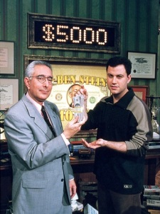 """Win Ben Stein's Money"" (TV) Ben Stein, Jimmy Kimmel Credit: Comedy Central/Courtesy Neal Peters Collection"
